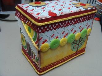 Recycled Truvia box