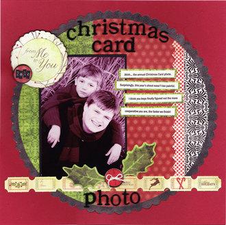 Christmas Card Photo 2010 (June 2011 Color Challenge)