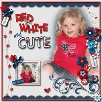 Red White and Cute