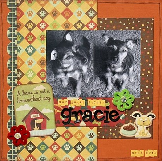 Our Sweet Little Gracie **We R Memory Keepers CT Reveal**