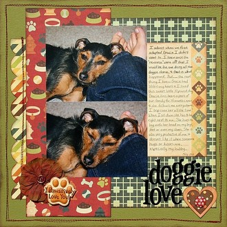 Doggie Love **We R Memory Keepers CT Reveal**