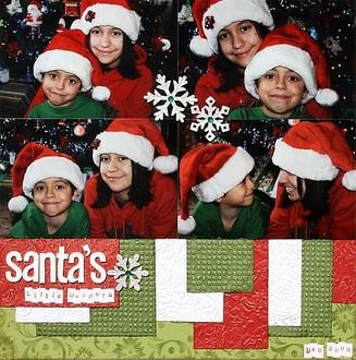 Santa's Little Helpers **Embossing CT Reveal**