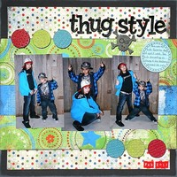 Thug Style **Embossing CT Reveal**