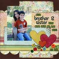 Being Brother & Sister **Embossing CT Reveal**