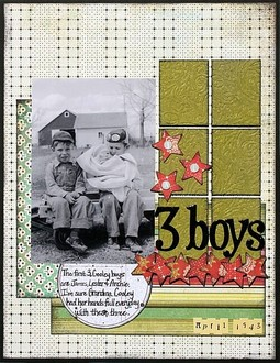 3 Boys **Embossing CT Reveal**