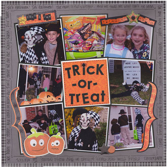 Trick or Treat 2010 (August Supply List Challenge)