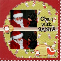 Chats With Santa **Imaginisce CT Reveal**