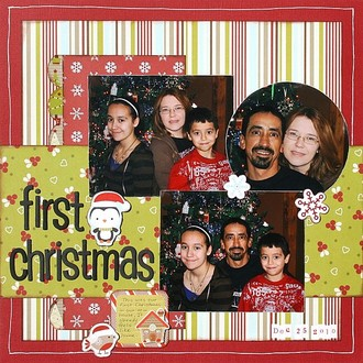 First Christmas **Imaginisce CT Reveal**