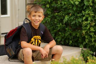 1st day of school (Sept Photo Challenge)