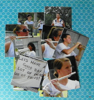 *Making the grid reveal* Band Camp