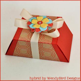 Color Pop Trapezoid Box