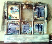 Shabby window Completed!!!