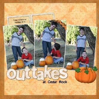 Outtakes at Cedar Rock