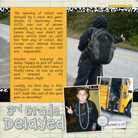 3rd Grade Delayed