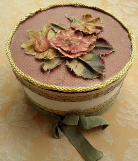 Altered Hat Box