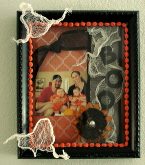 Boo Altered Shadow Box