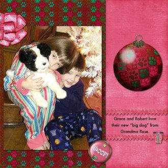 Big Christmas Dog