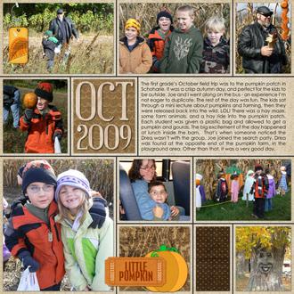 October 2009 Field Trip