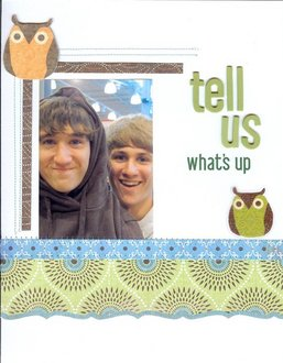Tell us - what's up