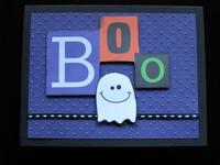 Boo - Card challenge
