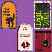 Fast Scrap 1 - Gift Tags