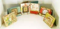 Christmas card crop class Cards