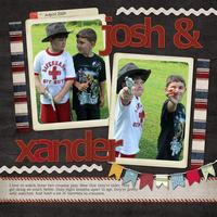 Josh & Xander