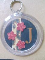J keychain
