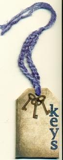Fast Scrap #4  key chain