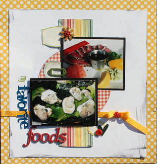 my favorite foods **Challenge 6**