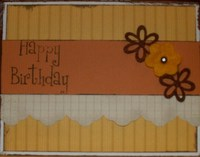 candy corn colors card