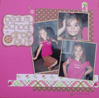 Beauty School Dropout- Challenge #6