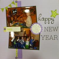 Happy New Years- Challenge #7