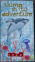 Jump into adventure bookmark