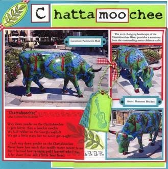 Cow Parade: Chattamoochee
