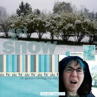 1st Snow 10.27.11