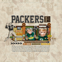 * Packers Football *