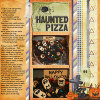 Recipe:  Haunted Pizza