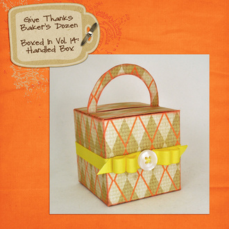 Give Thanks Handled Box