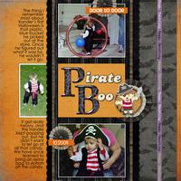 Pirate Boo