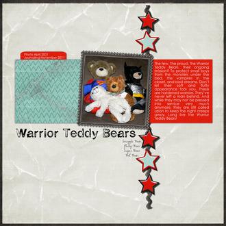 Warrior Teddy Bears
