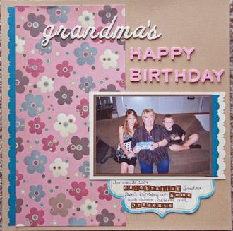 grandmas bday 2009