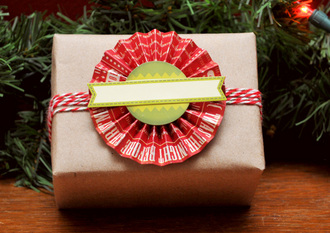 Gift Wrap- Accordian Flower Topper