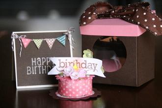 Birthday Tealight Candle Cake