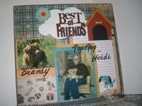 Best Friends Canvas Picture