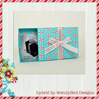 Peppermint Gift Card Box