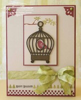 Happy Holidays {Prickley Pear Rubber Stamps}