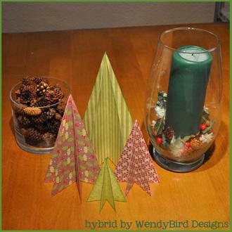 Folded Tree Decoration