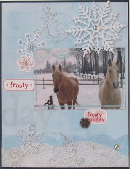 Frosty day - frosty nights