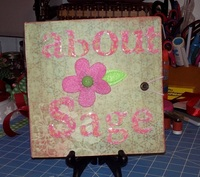 About Sage 8 x 8 Photo Album